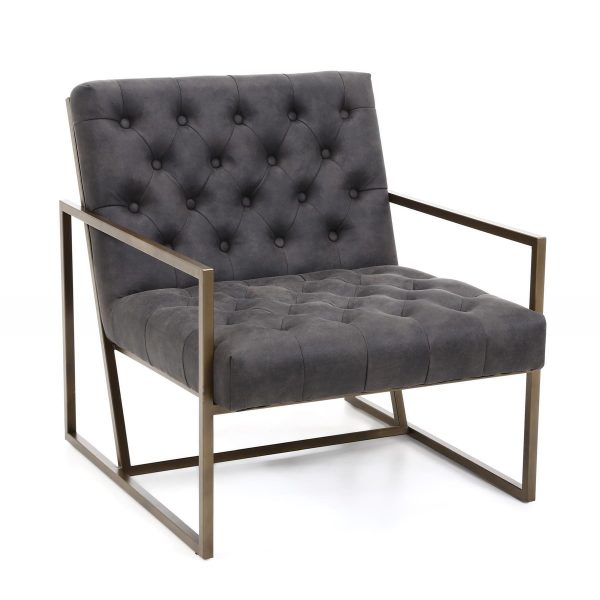 charcoal lounge chair