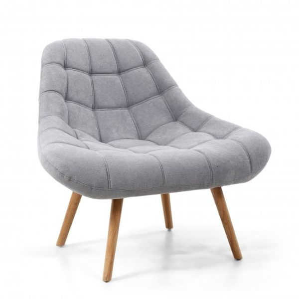grey coral shell armchair