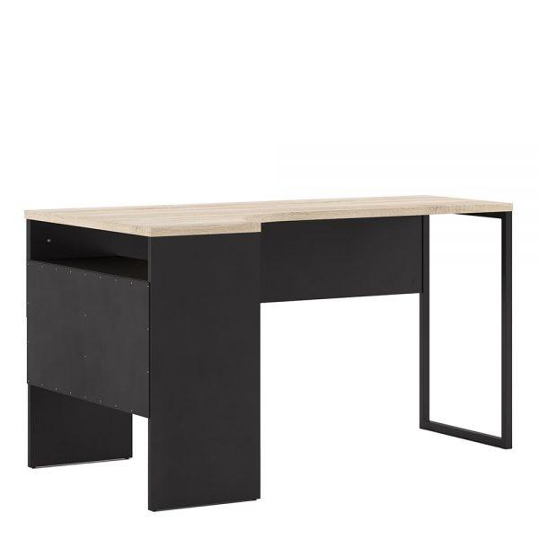 corner desk black