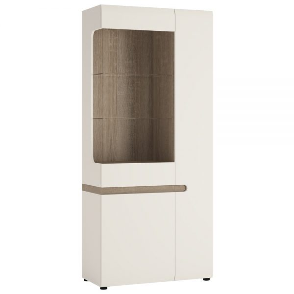 chelsea tall wide display unit