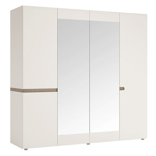 large mirrored chelsea wardrobe