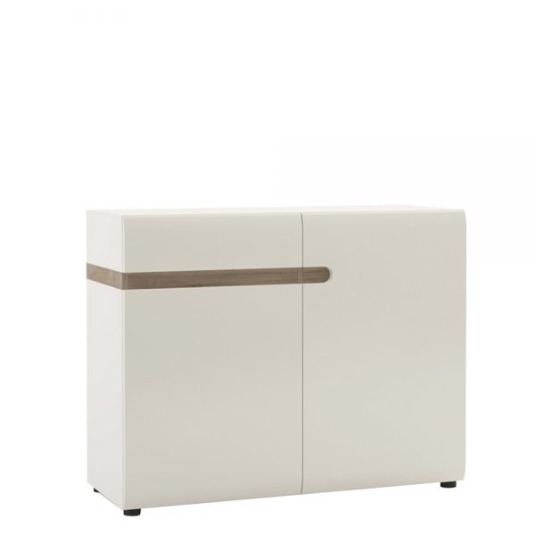 chelsea sideboard in white and oak