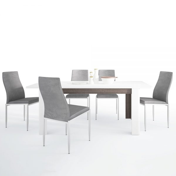 chelsea extendable dining set