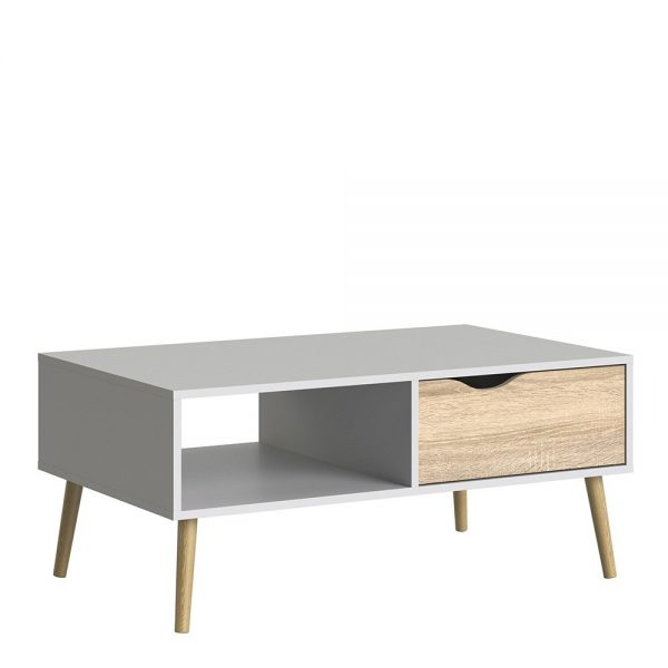 oak oslo coffee table