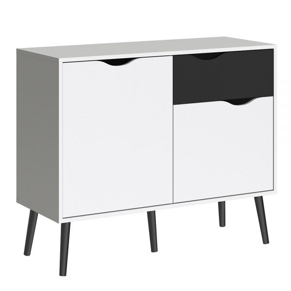 white matt sideboard