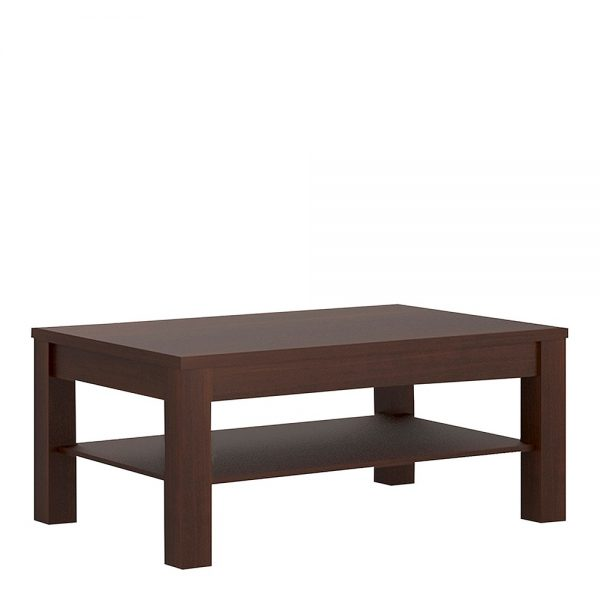 dark mahogany coffee table