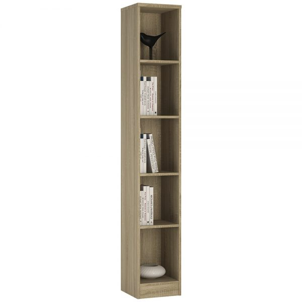 extra tall narrow bookcase
