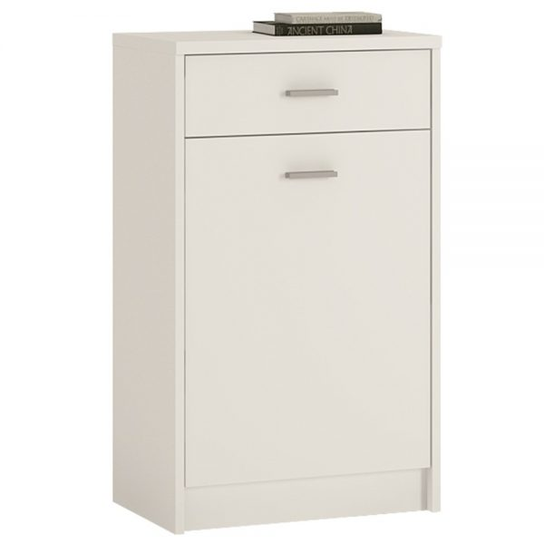 small white cupboard