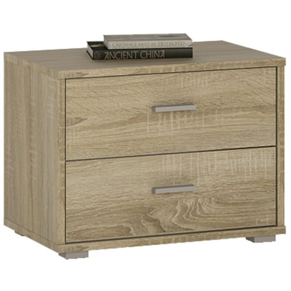 2 draw bedside cabinet