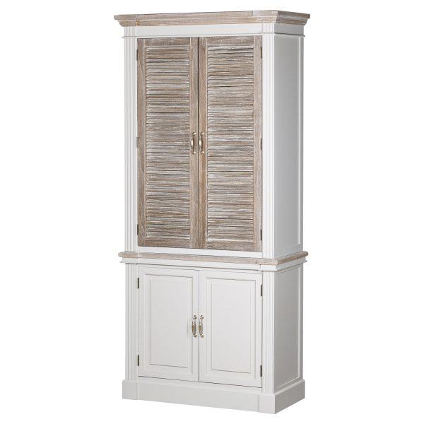 The Liberty Collection Linen Cupboard With Louvered Doors