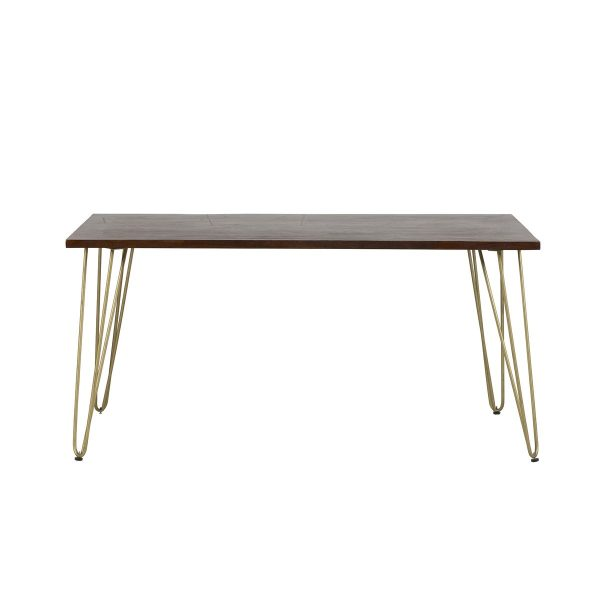Dark Gold Dining Table