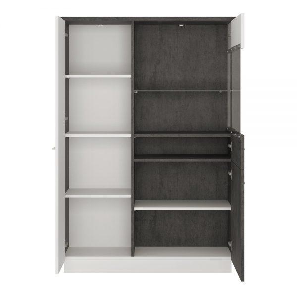 Zingaro Low display cabinet (RH)