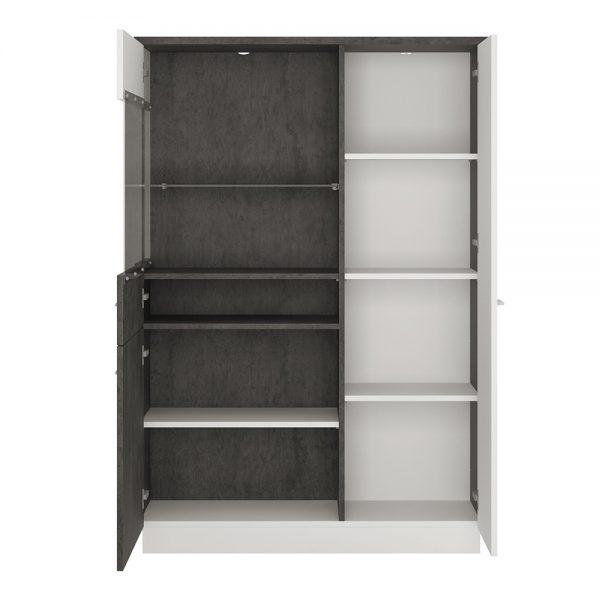 Zingaro Low display cabinet (LH)
