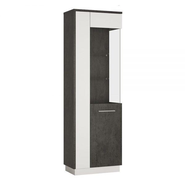 Zingaro Tall Glazed display cabinet (RH)