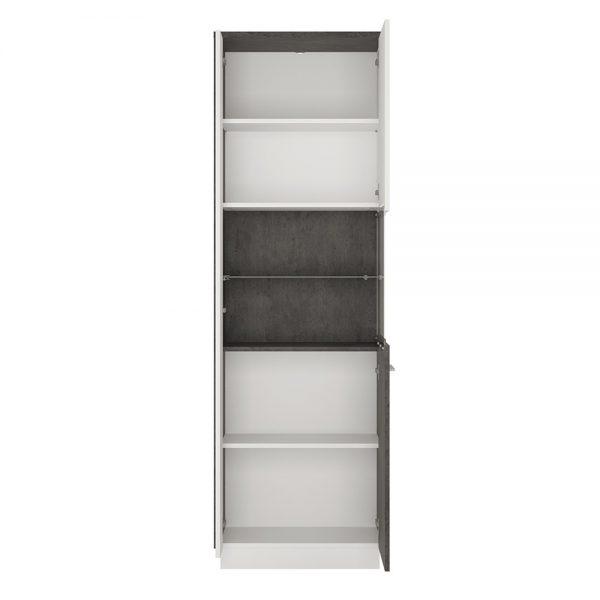 Zingaro Tall display cabinet (RH)