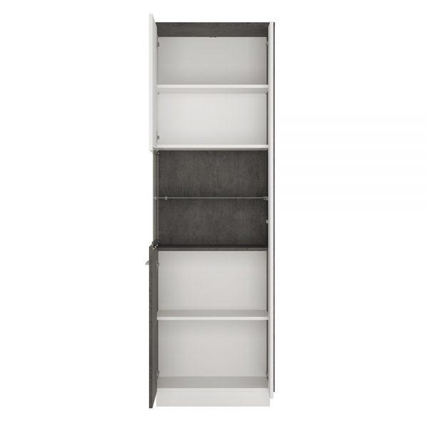 Zingaro Tall display cabinet (LH)