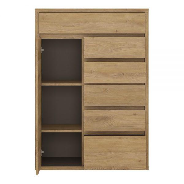 Shetland 1 Door 6 drawer cupboard