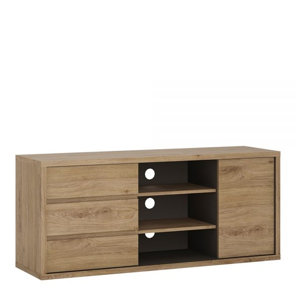 Shetland 1 Door 3 drawer TV cabinet