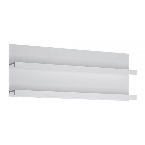 Fribo 166 cm wide wall shelf in White