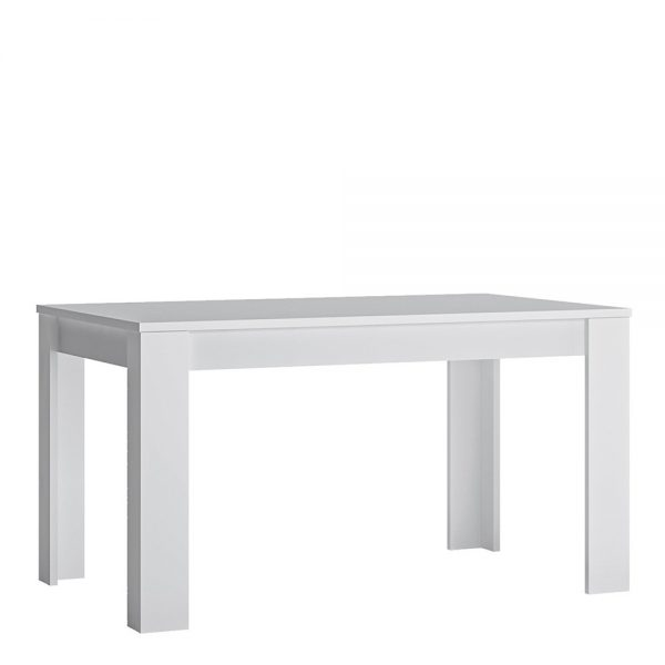 Fribo extending dining table 140-180cm in White