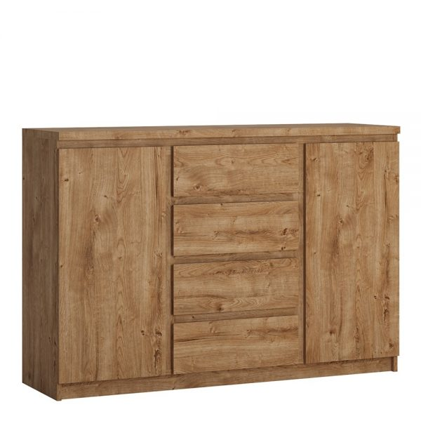 Fribo 2 door 4 drawer  sideboard in Oak