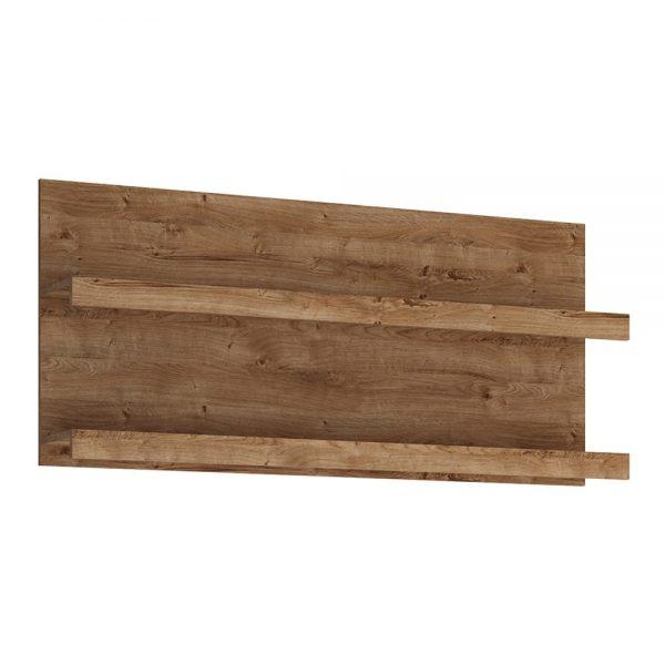 Fribo 136 cm wide wall shelf in Oak