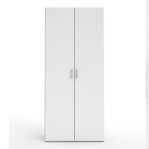 Space Wardrobe with 2 doors (175) White