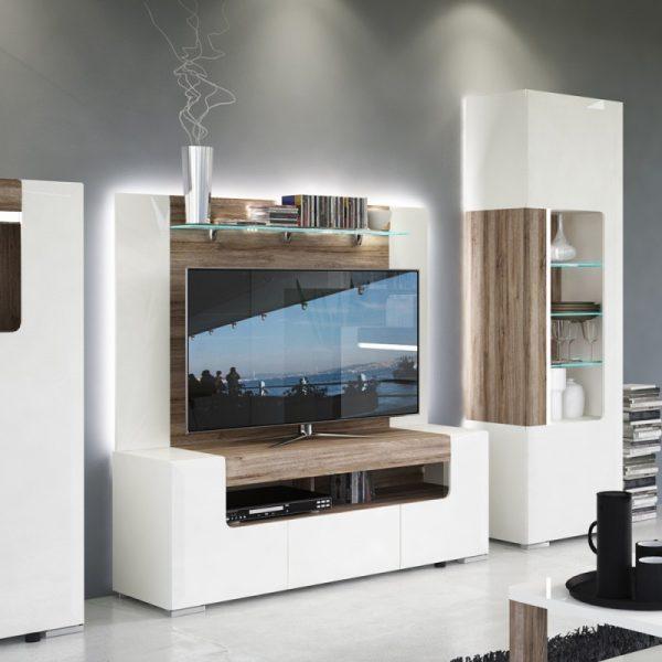 Toronto Rear Wall fitting for 140cm TV Cabinet (inc Tasma Flex Lighting)