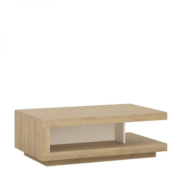 Lyon Designer coffee table Riviera Oak