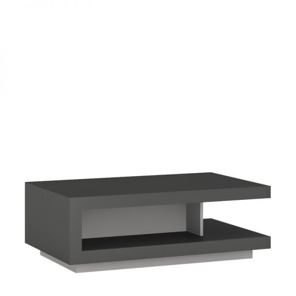 Lyon Designer coffee table light grey