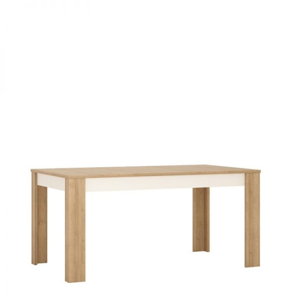 Lyon Large extending dining table 160/200 cm Riviera Oak
