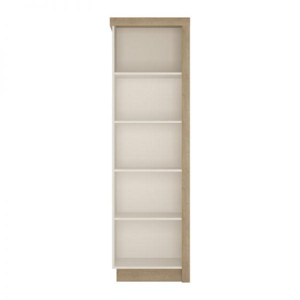 Lyon Bookcase (LH) Riviera Oak