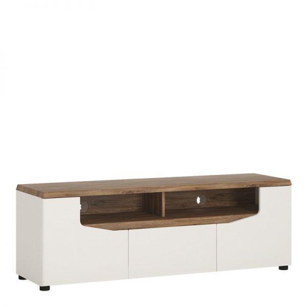 Toledo 2 door 1 drawer TV unit