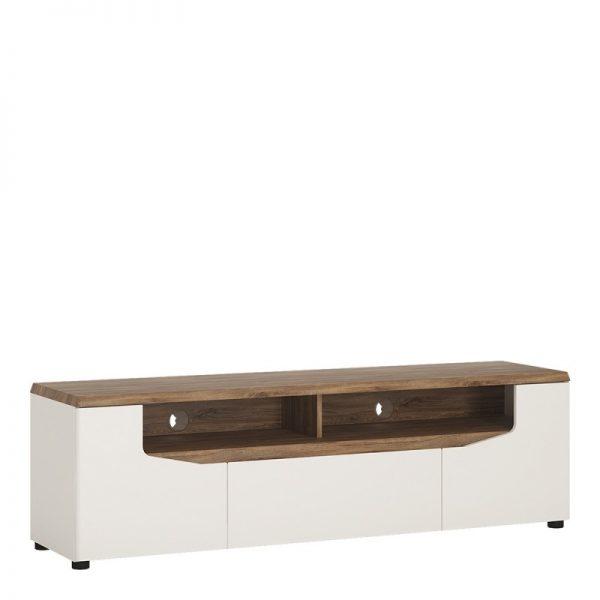 Toledo 2 door 1 drawer wide TV unit