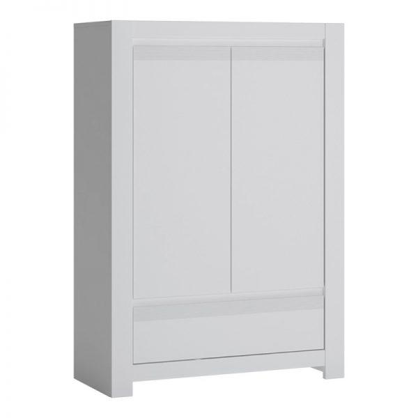 Novi 2 Door 1 Drawer Cabinet