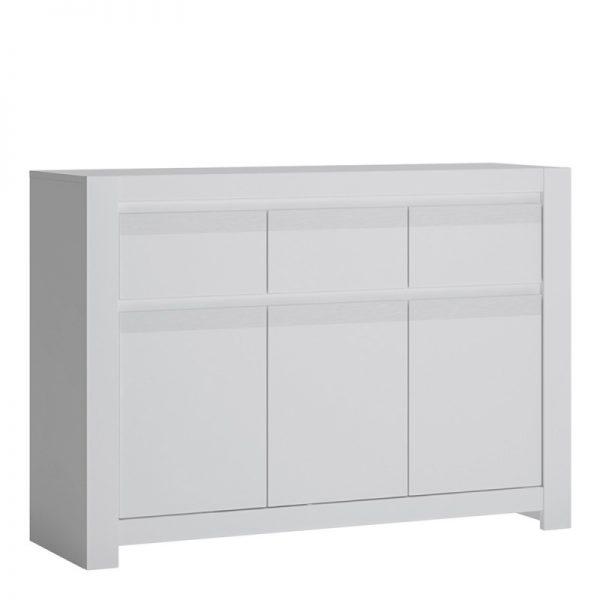 Novi 3 Door 3 Drawer Cabinet