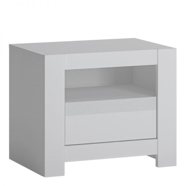 Novi 1 Drawer Bedside Table