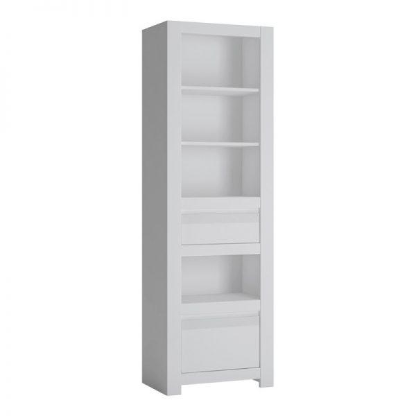 Novi 2 Drawer Bookcase