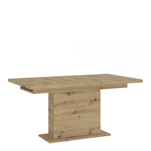 Luci extending dining table 160-200cm  in White and Oak