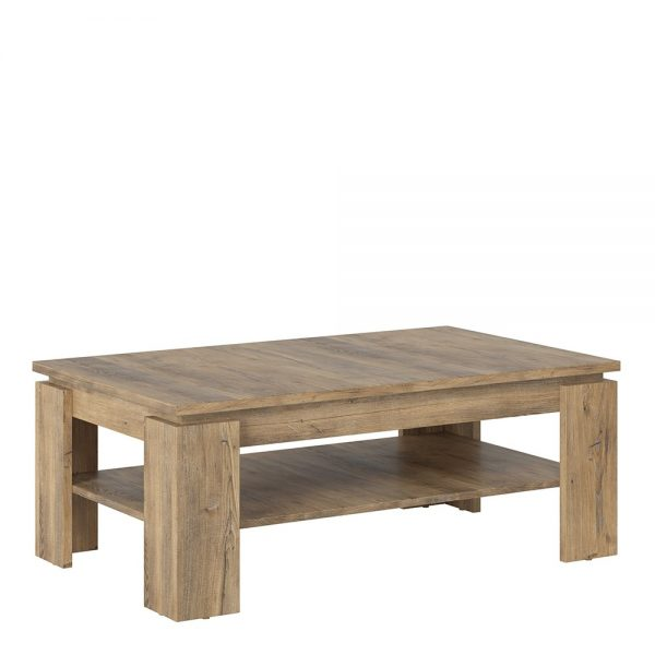 Rapallo Large coffee table in Chestnut and Matera Grey