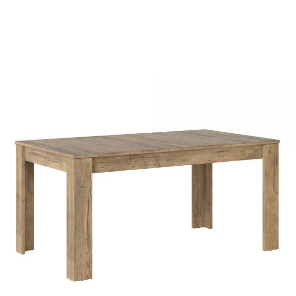 Rapallo extending dining table 160-200cm in Chestnut and Matera Grey