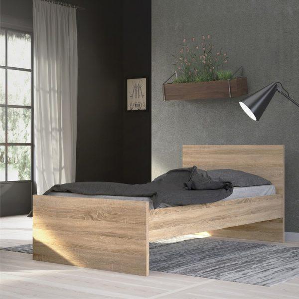 Naia Single Bed 3ft (90 x 190) in Oak