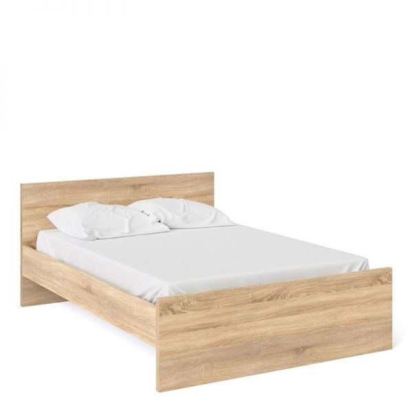 Naia Double Bed 4ft6 (140 x 190) in Oak