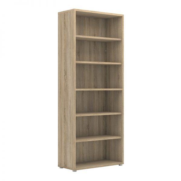 Prima Bookcase 5 Shelves in Oak