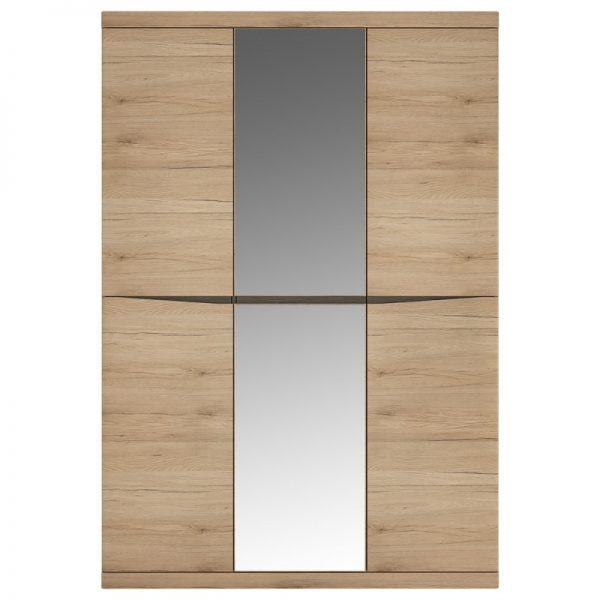 Kensington 3 Door Wardrobe with Centre Mirror door