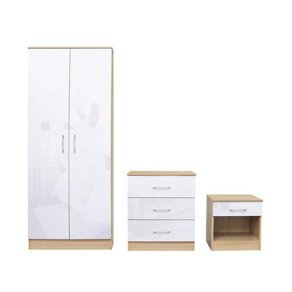 Dakota Bedroom Set White