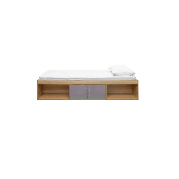 Dakota Cabin Bed Oak-Grey