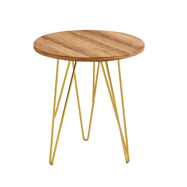 Fusion Lamp Table Wood