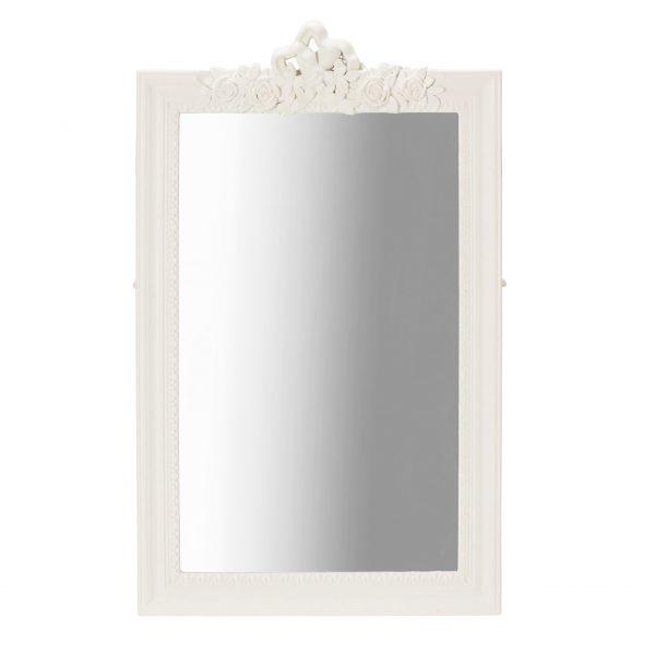 Juliette Wall Mirror White