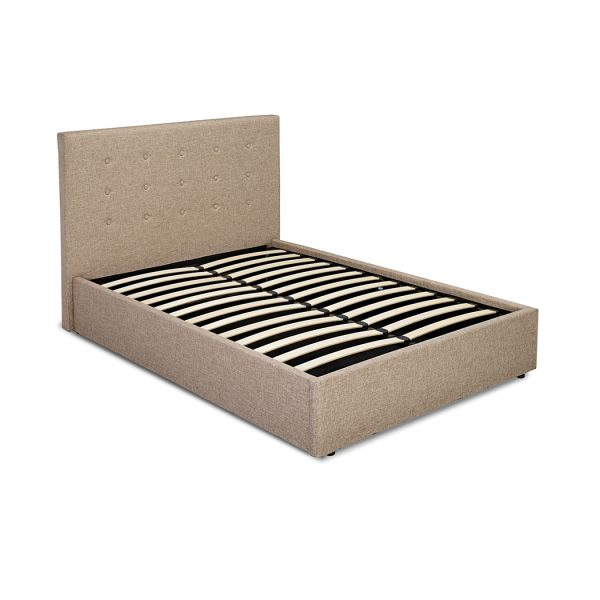 Lucca 4.6 Double Bed Beige